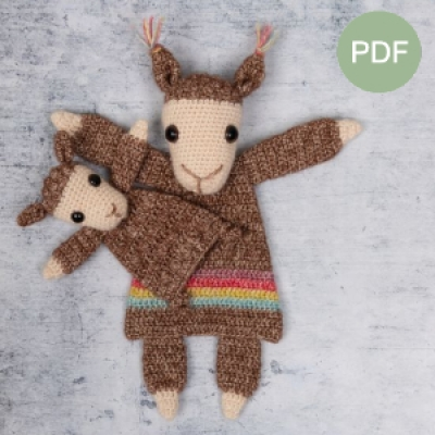 Duo Deal: Lama en mini lama Pdf patroon