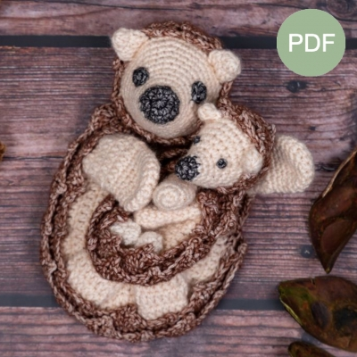 Duo Deal: Egel en mini egel Pdf patroon