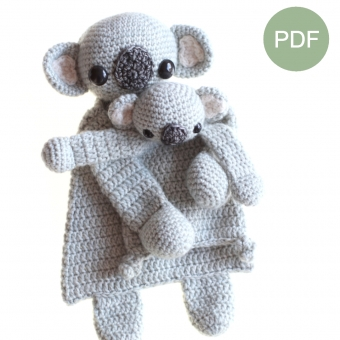 Duo Deal: Koala en mini Koala Pdf patroon