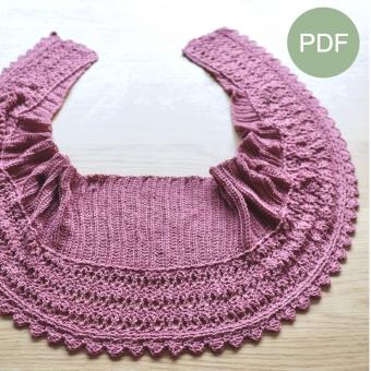 Romantische Sjaal PDF Patroon