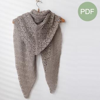 Vlindervleugels Sjaal PDF Patroon